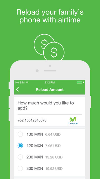 Xoom Money Transfer iPhone App - App Store Apps